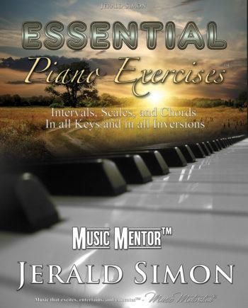 Essential Piano Exercises by Jerald Simon - published by Music Motivation