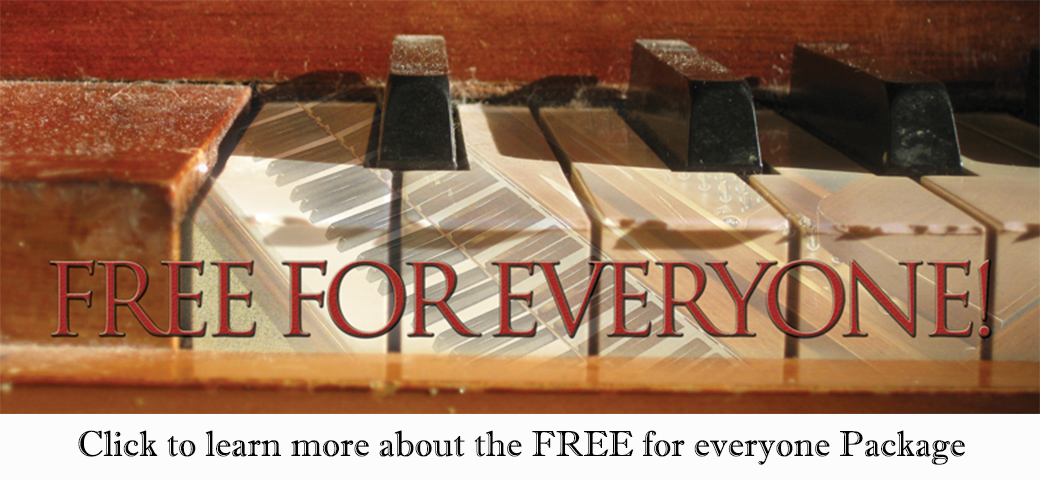 Free for everyone package - Cool Songs package by Jerald Simon - Music Motivation
