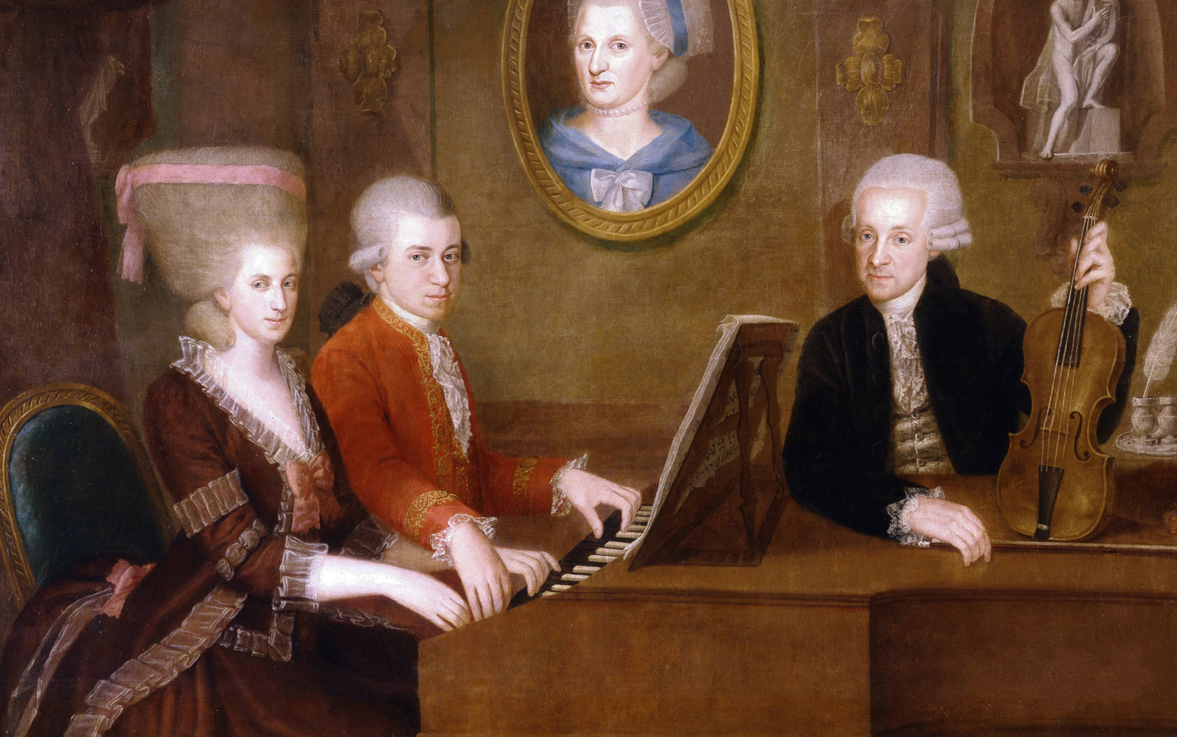 Loophole Mozart, father of Wolfgang Amadeus Mozart, was the only music teacher Mozart had growing up. Teach and be taught by Jerald Simon (Music Motivation).
