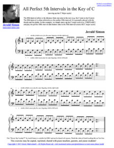 (1) All Perfect Fifth Intervals (moving up the C Major Scale).mu
