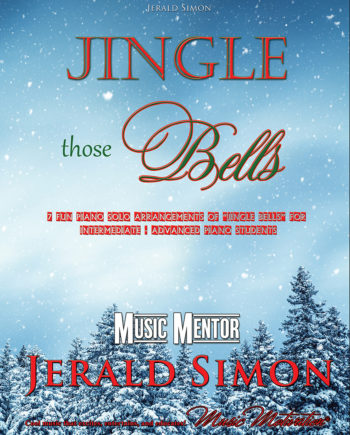Jingle Those Bells (front cover) by Jerald Simon - Published by Music Motivation
