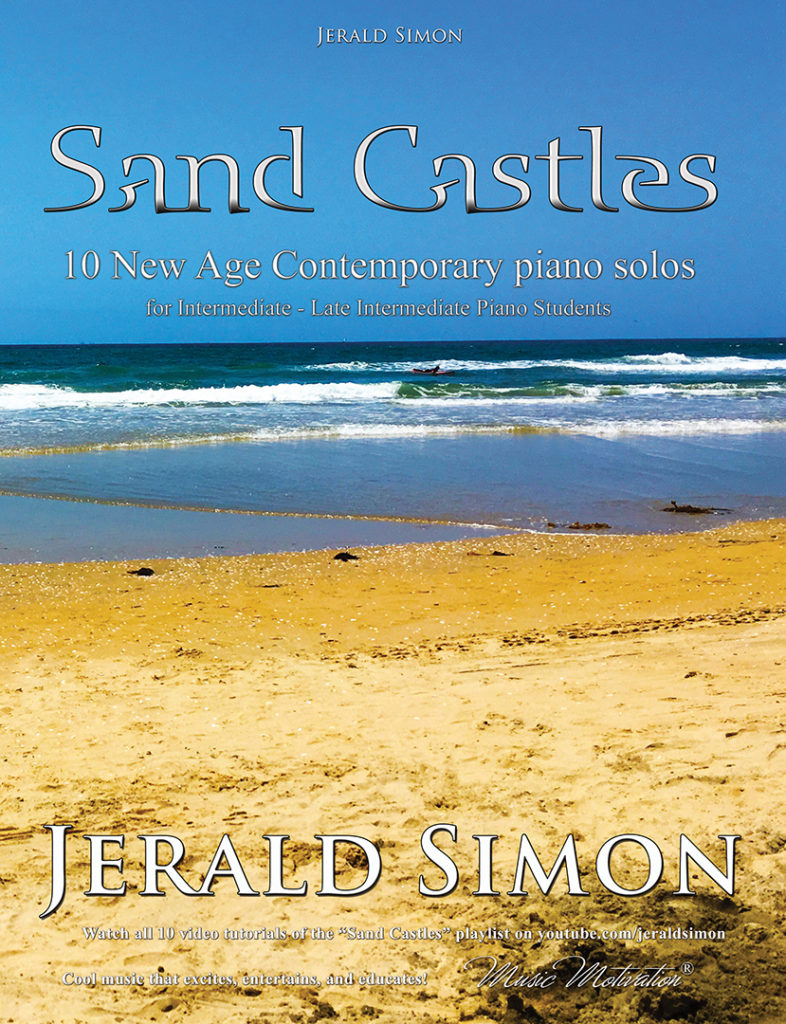 Sand Castles by Jerald Simon (complete PDF book) - published by Music Motivation (front cover image)